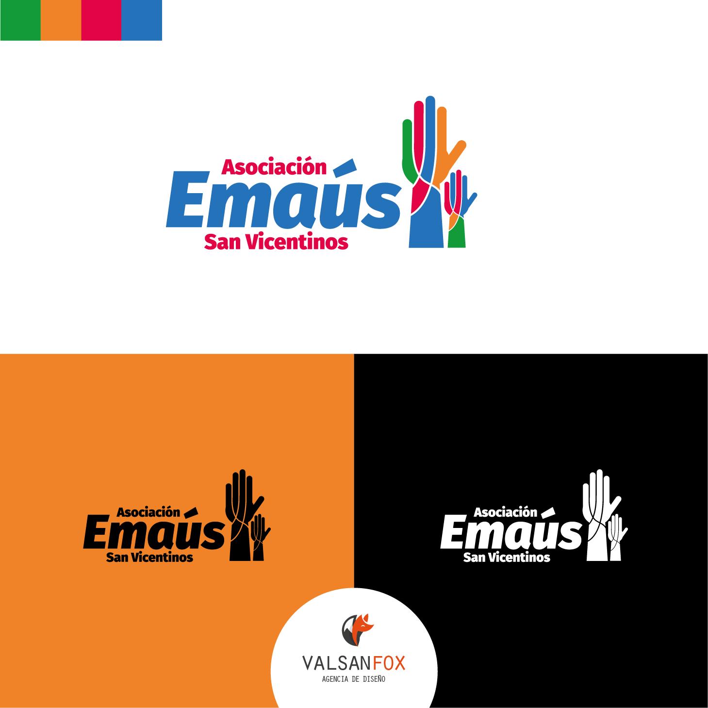 Diseño de Logotipo Emaus San Vicentino