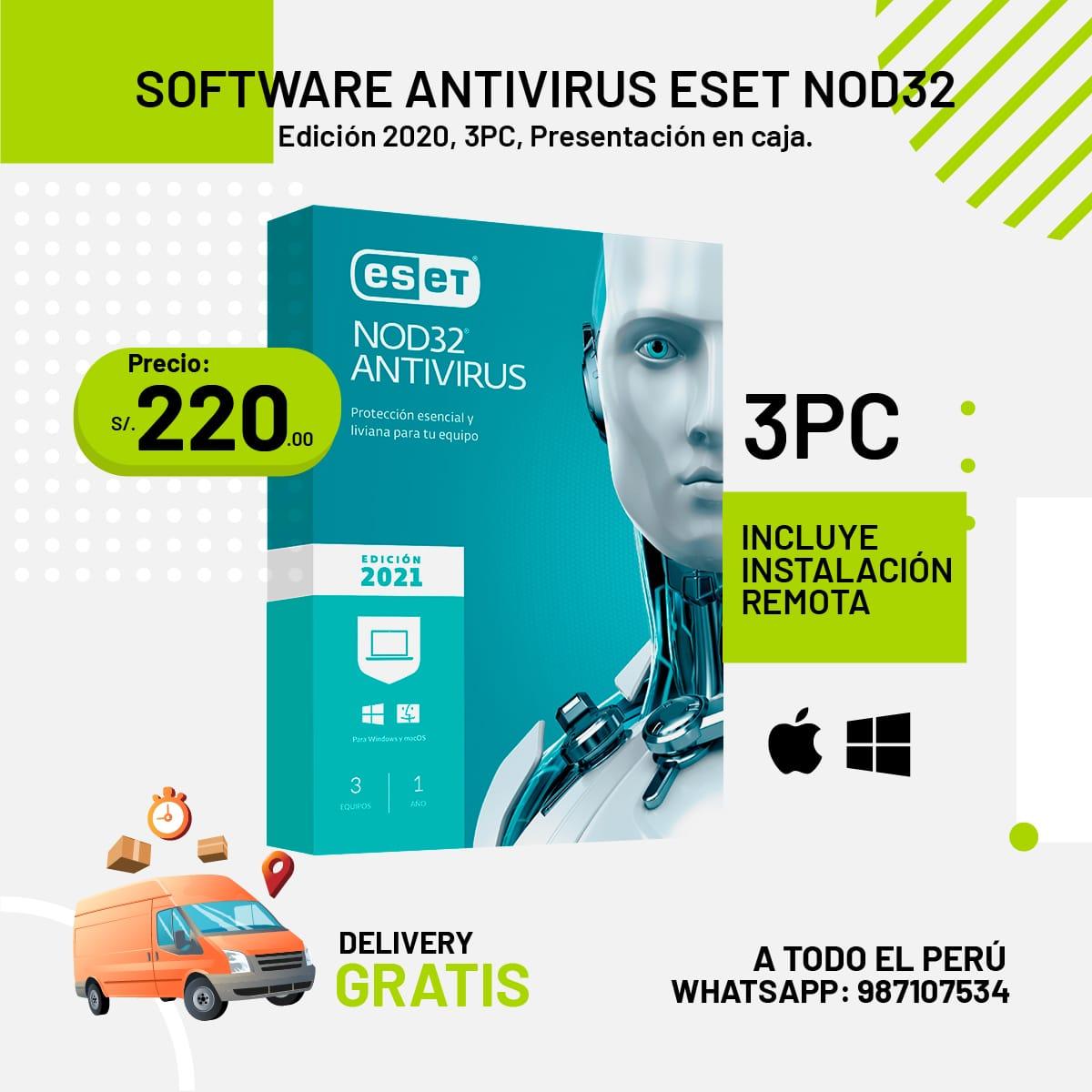 Licencias NOD 32 Antivirus ESET